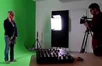 A large recording / photographic studio